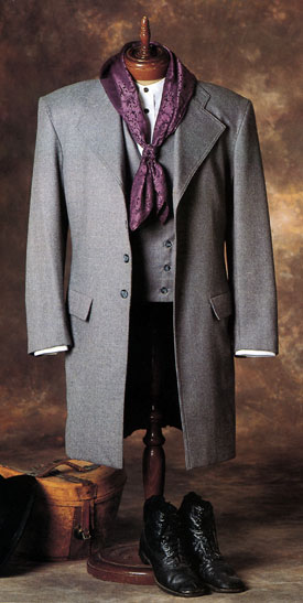 Old Frontier Clothing Co. Frock Coat