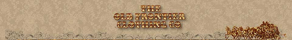 Old Frontier Clothing Company Heading