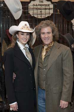 Larry Bitterman and Miss Rodeo America