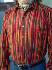 Custom Stripe Victorian Shirt